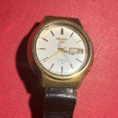 Relojes automáticos: RELOJ AUTOMÁTICO SEIKO 5. FUNCIONA. Lote 195145040