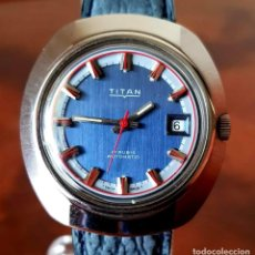 Relojes automáticos: RELOJ TITAN AUTOMATICO, SWISS MADE, VINTAGE, NOS (NEW OLD STOCK). Lote 195166721