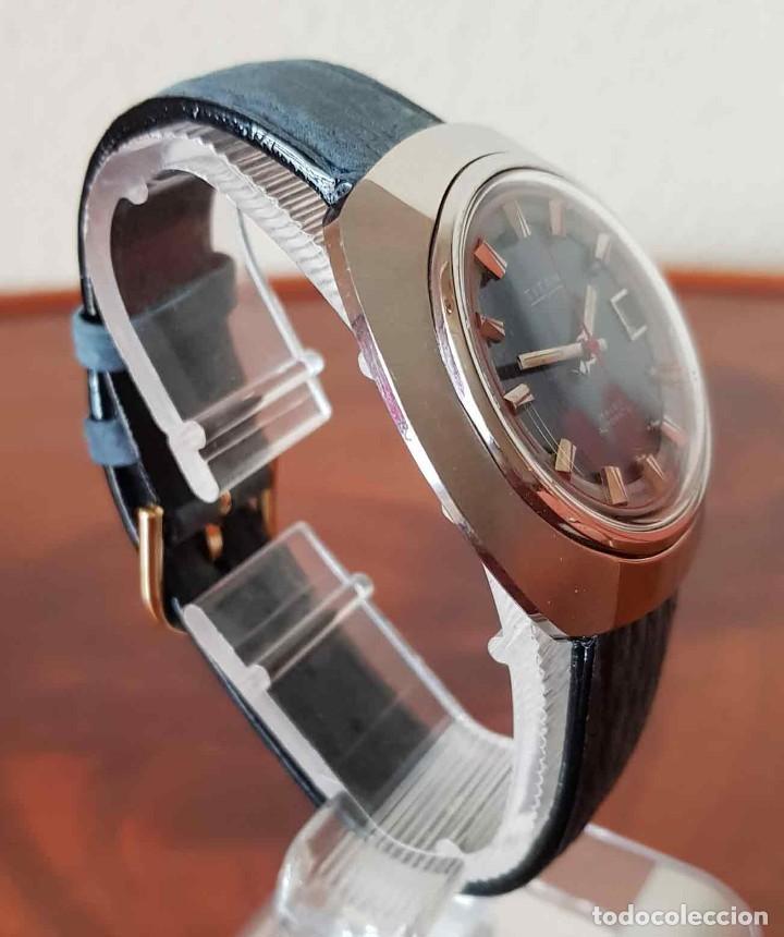 Relojes automáticos: RELOJ TITAN AUTOMATICO, Swiss made, VINTAGE, NOS (new old stock) - Foto 5 - 195166721