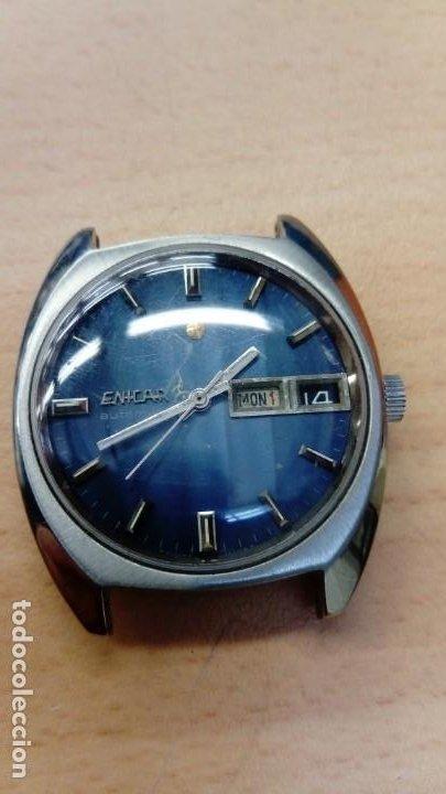 Relojes automáticos: Reloj Enicar automático - Foto 2 - 195215123