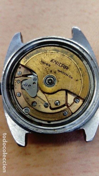Relojes automáticos: Reloj Enicar automático - Foto 6 - 195215123