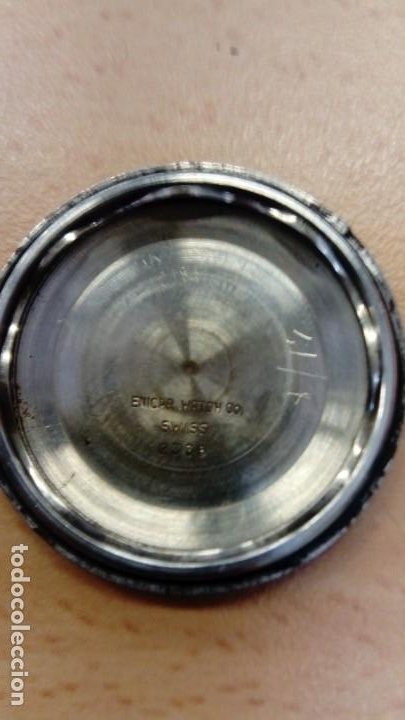 Relojes automáticos: Reloj Enicar automático - Foto 7 - 195215123