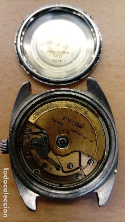 Relojes automáticos: Reloj Enicar automático - Foto 8 - 195215123