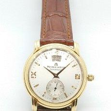 Relojes automáticos: RELOJ MAURICE LACROIX MASTERPIECE ORO 18KTS. Nº 58788. Lote 195218673