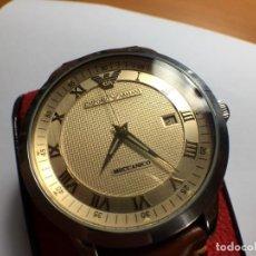 Relojes automáticos: RELOJ ARMANI AR-0651 AUTOMÁTICO MÁQUINA ETA 2824-2 EN EXCELENTE ESTADO ESTÉTICO. Lote 195232565