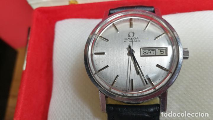 Relojes automáticos: RELOJ OMEGA AUTOMÁTICO DOBLE DATE, CAL-1020 DEL AÑO 1978, DE 17 JOYAS, INCABLOC - Foto 11 - 195235830