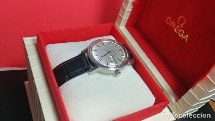 Relojes automáticos: RELOJ OMEGA AUTOMÁTICO DOBLE DATE, CAL-1020 DEL AÑO 1978, DE 17 JOYAS, INCABLOC - Foto 14 - 195235830