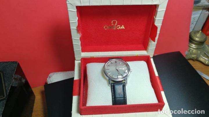 Relojes automáticos: RELOJ OMEGA AUTOMÁTICO DOBLE DATE, CAL-1020 DEL AÑO 1978, DE 17 JOYAS, INCABLOC - Foto 15 - 195235830