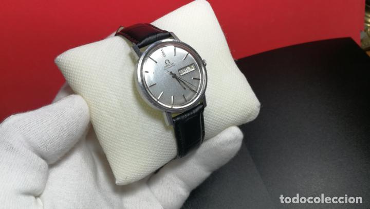 Relojes automáticos: RELOJ OMEGA AUTOMÁTICO DOBLE DATE, CAL-1020 DEL AÑO 1978, DE 17 JOYAS, INCABLOC - Foto 20 - 195235830