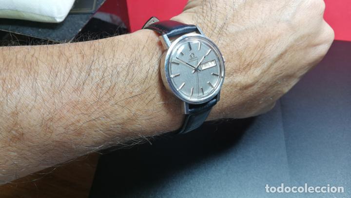 Relojes automáticos: RELOJ OMEGA AUTOMÁTICO DOBLE DATE, CAL-1020 DEL AÑO 1978, DE 17 JOYAS, INCABLOC - Foto 21 - 195235830