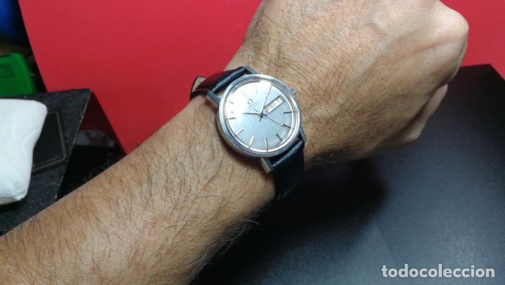 Relojes automáticos: RELOJ OMEGA AUTOMÁTICO DOBLE DATE, CAL-1020 DEL AÑO 1978, DE 17 JOYAS, INCABLOC - Foto 26 - 195235830