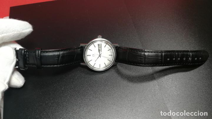 Relojes automáticos: RELOJ OMEGA AUTOMÁTICO DOBLE DATE, CAL-1020 DEL AÑO 1978, DE 17 JOYAS, INCABLOC - Foto 37 - 195235830
