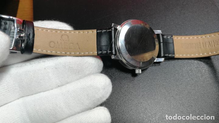 Relojes automáticos: RELOJ OMEGA AUTOMÁTICO DOBLE DATE, CAL-1020 DEL AÑO 1978, DE 17 JOYAS, INCABLOC - Foto 39 - 195235830
