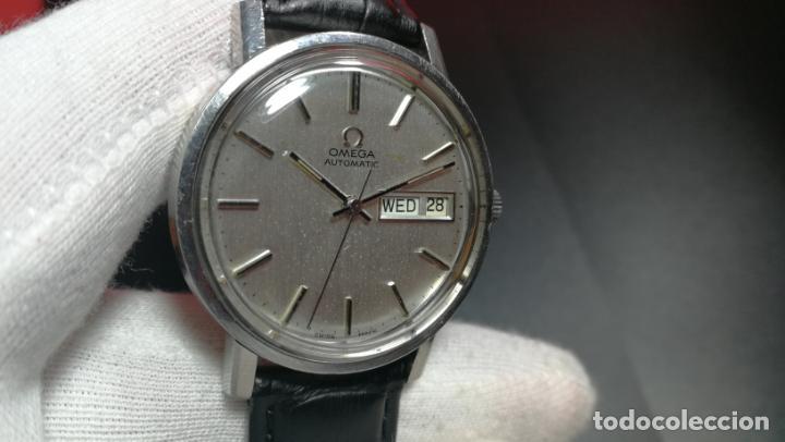 Relojes automáticos: RELOJ OMEGA AUTOMÁTICO DOBLE DATE, CAL-1020 DEL AÑO 1978, DE 17 JOYAS, INCABLOC - Foto 42 - 195235830