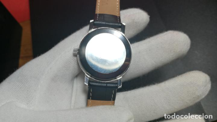 Relojes automáticos: RELOJ OMEGA AUTOMÁTICO DOBLE DATE, CAL-1020 DEL AÑO 1978, DE 17 JOYAS, INCABLOC - Foto 45 - 195235830