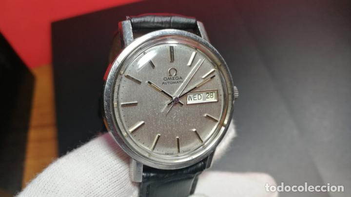 Relojes automáticos: RELOJ OMEGA AUTOMÁTICO DOBLE DATE, CAL-1020 DEL AÑO 1978, DE 17 JOYAS, INCABLOC - Foto 48 - 195235830
