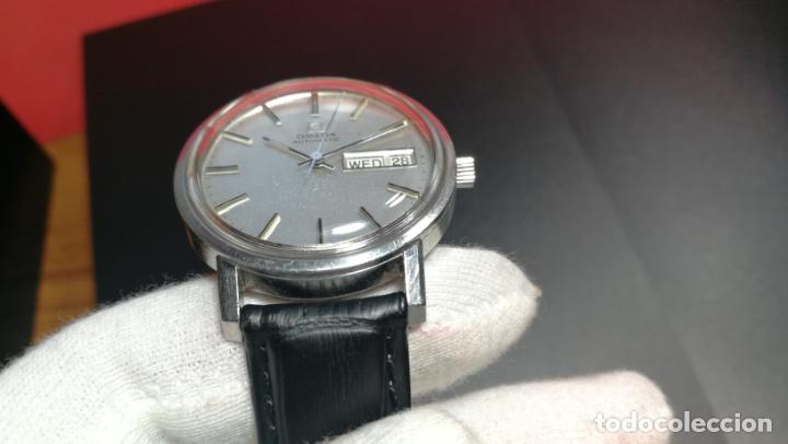 Relojes automáticos: RELOJ OMEGA AUTOMÁTICO DOBLE DATE, CAL-1020 DEL AÑO 1978, DE 17 JOYAS, INCABLOC - Foto 50 - 195235830