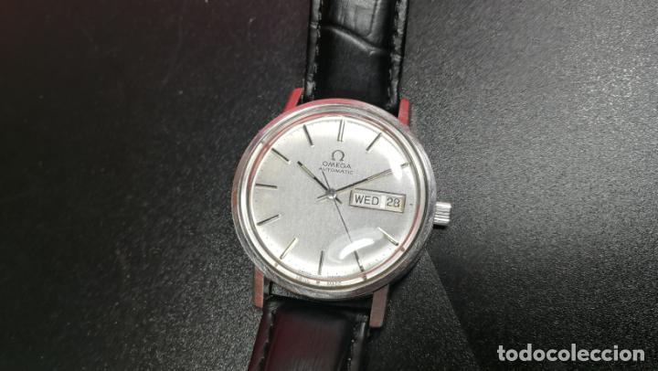 Relojes automáticos: RELOJ OMEGA AUTOMÁTICO DOBLE DATE, CAL-1020 DEL AÑO 1978, DE 17 JOYAS, INCABLOC - Foto 53 - 195235830