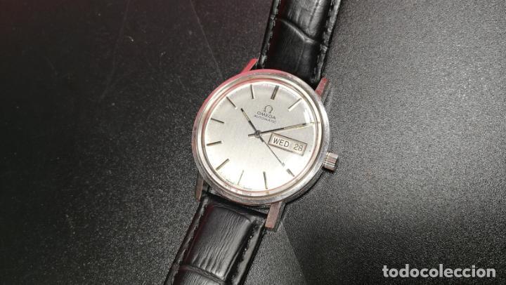 Relojes automáticos: RELOJ OMEGA AUTOMÁTICO DOBLE DATE, CAL-1020 DEL AÑO 1978, DE 17 JOYAS, INCABLOC - Foto 55 - 195235830