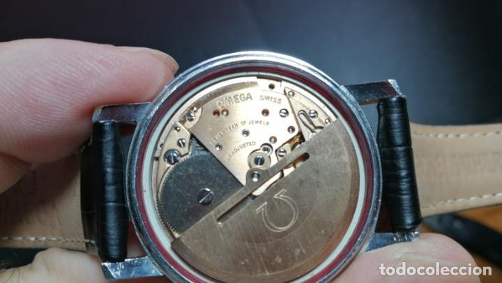 Relojes automáticos: RELOJ OMEGA AUTOMÁTICO DOBLE DATE, CAL-1020 DEL AÑO 1978, DE 17 JOYAS, INCABLOC - Foto 56 - 195235830