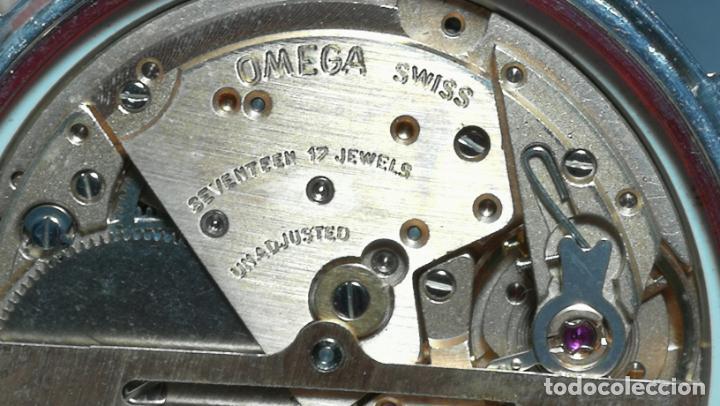 Relojes automáticos: RELOJ OMEGA AUTOMÁTICO DOBLE DATE, CAL-1020 DEL AÑO 1978, DE 17 JOYAS, INCABLOC - Foto 57 - 195235830