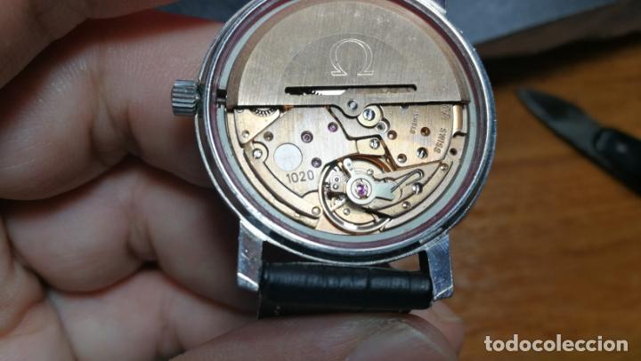 Relojes automáticos: RELOJ OMEGA AUTOMÁTICO DOBLE DATE, CAL-1020 DEL AÑO 1978, DE 17 JOYAS, INCABLOC - Foto 58 - 195235830