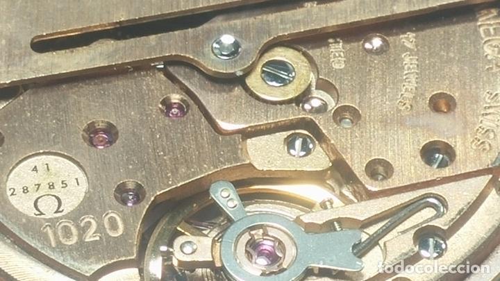 Relojes automáticos: RELOJ OMEGA AUTOMÁTICO DOBLE DATE, CAL-1020 DEL AÑO 1978, DE 17 JOYAS, INCABLOC - Foto 59 - 195235830