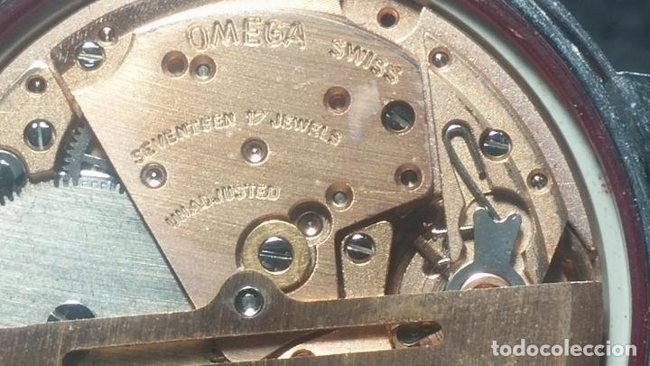 Relojes automáticos: RELOJ OMEGA AUTOMÁTICO DOBLE DATE, CAL-1020 DEL AÑO 1978, DE 17 JOYAS, INCABLOC - Foto 62 - 195235830