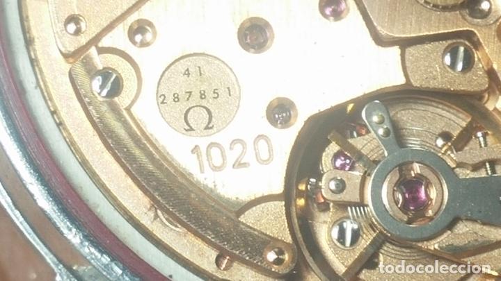 Relojes automáticos: RELOJ OMEGA AUTOMÁTICO DOBLE DATE, CAL-1020 DEL AÑO 1978, DE 17 JOYAS, INCABLOC - Foto 63 - 195235830