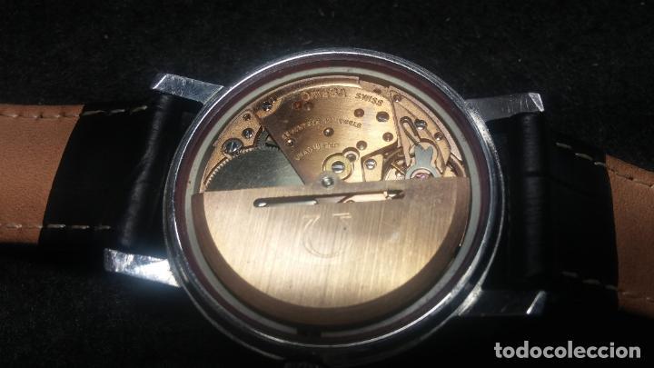 Relojes automáticos: RELOJ OMEGA AUTOMÁTICO DOBLE DATE, CAL-1020 DEL AÑO 1978, DE 17 JOYAS, INCABLOC - Foto 65 - 195235830