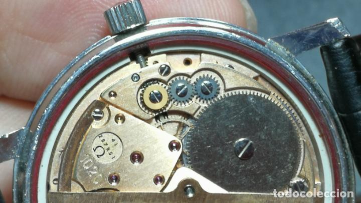 Relojes automáticos: RELOJ OMEGA AUTOMÁTICO DOBLE DATE, CAL-1020 DEL AÑO 1978, DE 17 JOYAS, INCABLOC - Foto 66 - 195235830