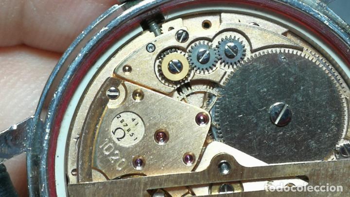 Relojes automáticos: RELOJ OMEGA AUTOMÁTICO DOBLE DATE, CAL-1020 DEL AÑO 1978, DE 17 JOYAS, INCABLOC - Foto 67 - 195235830