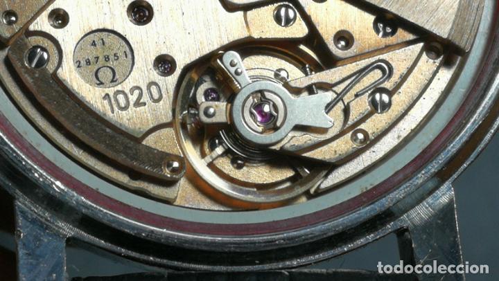 Relojes automáticos: RELOJ OMEGA AUTOMÁTICO DOBLE DATE, CAL-1020 DEL AÑO 1978, DE 17 JOYAS, INCABLOC - Foto 68 - 195235830