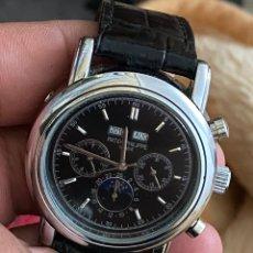 Relojes automáticos: PATEK PHILIPPE RELOJ DE RÉPLICA DE ALTA COPIA -FUNCIONA - VER LAS FOTOS. Lote 195245600