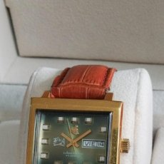 Relojes automáticos: RELOJ FERROCARRIL DE ANQUIOQUIA ANTIGUO . Lote 195249136