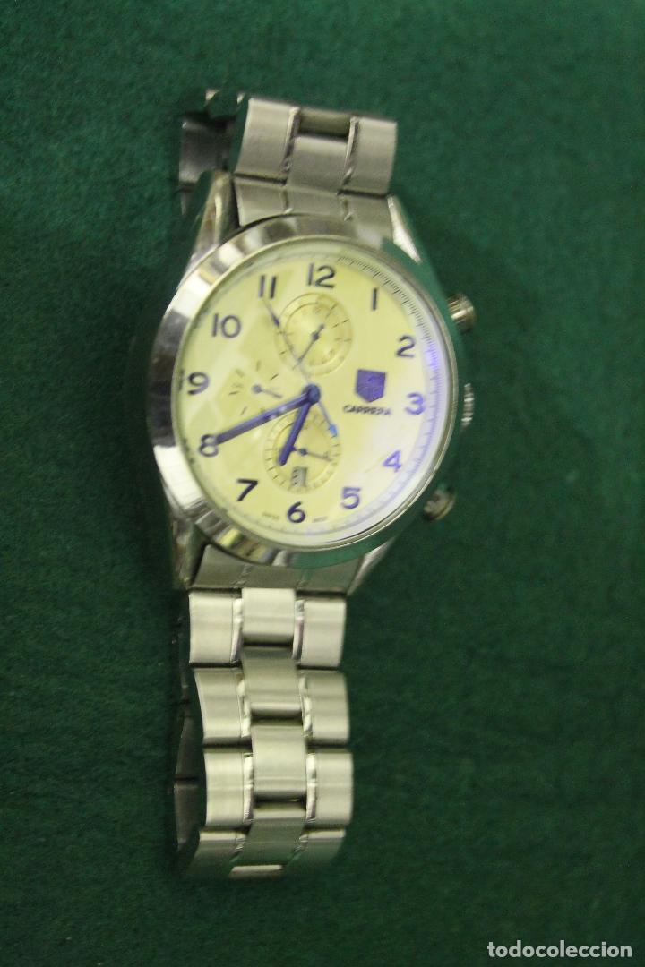 Relojes automáticos: RELOJ PULSERA, CARRERA, AUTOMATICO, (D2) - Foto 2 - 195259871