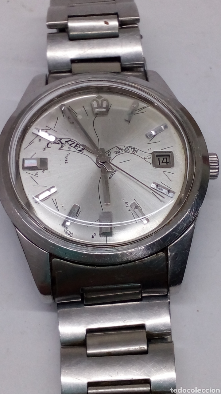 Relojes automáticos: Reloj Citizen automatico diseño especial - Foto 2 - 195273395