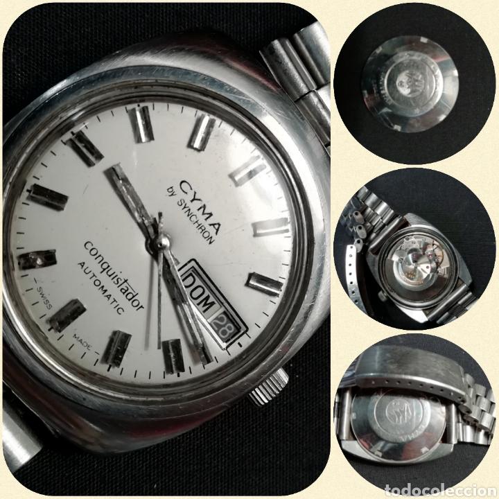 Relojes automáticos: Reloj pulsera CYMA by SYNCHRON, Conquistador, AUTOMÁTICO. - Foto 4 - 195277876