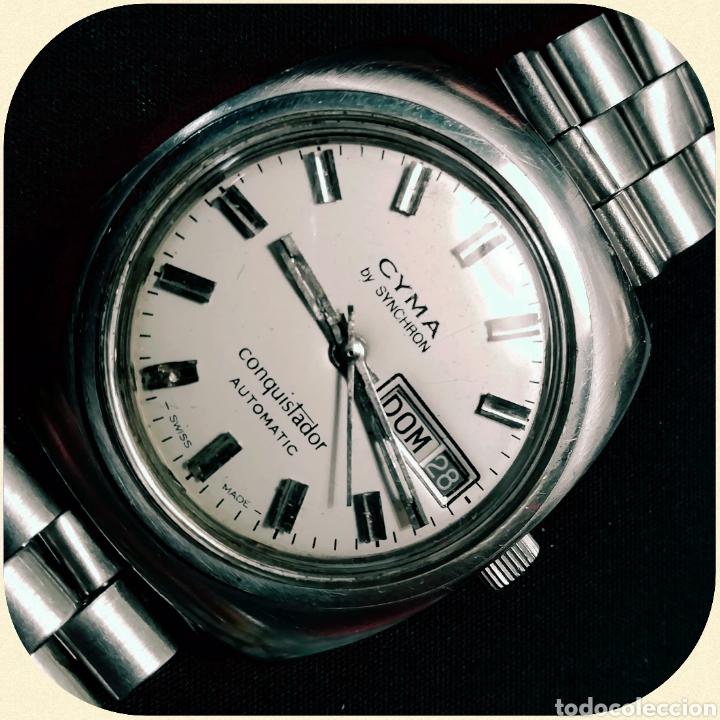 Relojes automáticos: Reloj pulsera CYMA by SYNCHRON, Conquistador, AUTOMÁTICO. - Foto 6 - 195277876