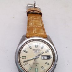 Relojes automáticos: RELOJ SEIKO5 AUTOMATICO MODELO 6119-8083 MUY BUSCADO SEÑALES HORARIAS REFLECTANTES. Lote 195307208
