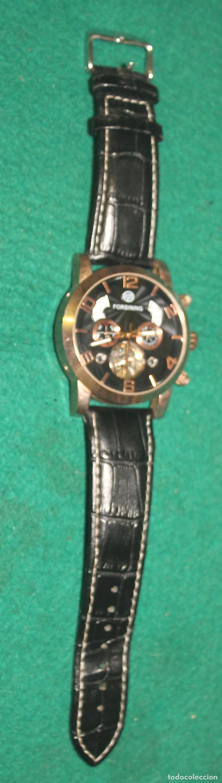 Relojes automáticos: RELOJ DE PULSERA, AUTOMATICO, FORSING (D14) - Foto 4 - 195315277