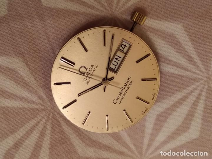 Relojes automáticos: Maquina Omega Constellation - Foto 6 - 195321932
