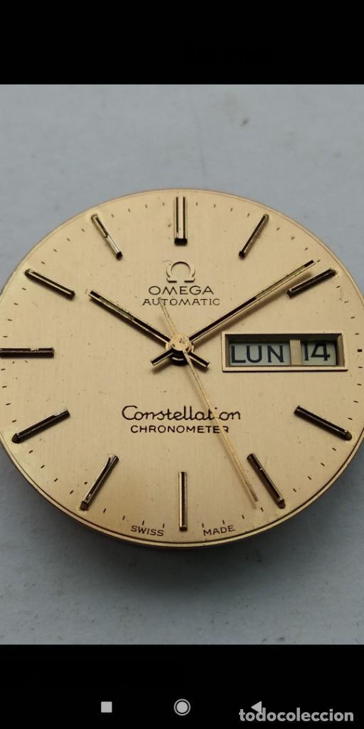 Relojes automáticos: Maquina Omega Constellation - Foto 7 - 195321932