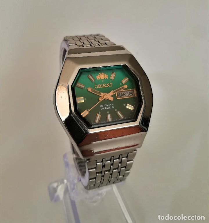 ESPECTACULAR ORIENT AUTOMATICO ANTIGUO OCTAGONAL 1960 (Relojes - Relojes Automáticos)