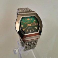 Relojes automáticos: ESPECTACULAR ORIENT AUTOMATICO ANTIGUO OCTAGONAL 1960. Lote 195341891