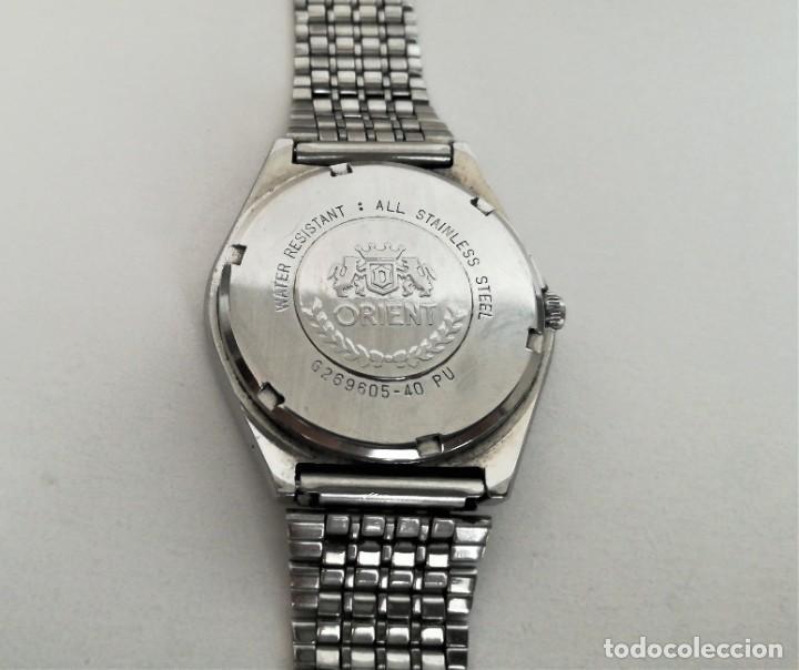 Relojes automáticos: ESPECTACULAR ORIENT AUTOMATICO ANTIGUO OCTAGONAL 1960 - Foto 6 - 195341891