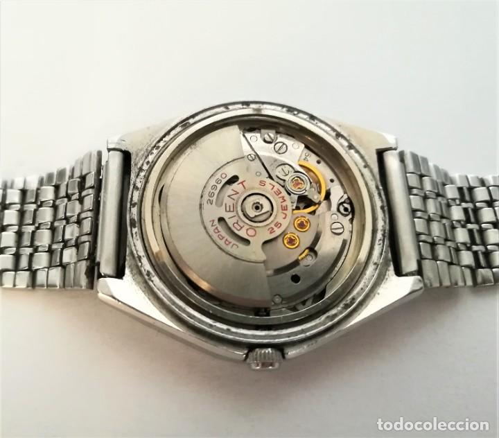 Relojes automáticos: ESPECTACULAR ORIENT AUTOMATICO ANTIGUO OCTAGONAL 1960 - Foto 9 - 195341891