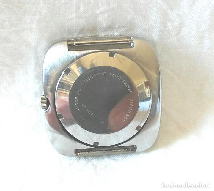 Relojes automáticos: Reloj Mondia automático funciona años 60, calendario y dia de la semana a las 6, vintage. Med. 35 mm - Foto 2 - 195359765
