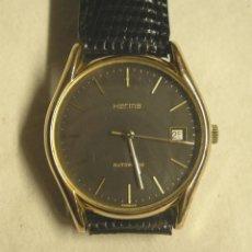 Relojes automáticos: RELOJ HERMA AUTOMÁTICO, CALENDARIO, FUNCIONA. MED. 3,5 CM SIN CONTAR CORONA. Lote 195359782