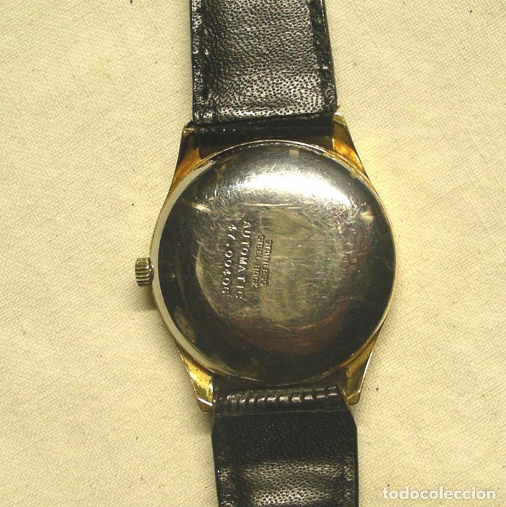 Relojes automáticos: Reloj Herma Automático, calendario, funciona. Med. 3,5 cm sin contar corona - Foto 3 - 195359782
